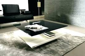 black lacquer coffee table white glass end tables round full size
