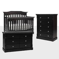 5 drawer dresser espresso. Plain Dresser Dolce Babi Roma Nursery Set Lifestyle Crib 5 Drawer U0026 Double Dresser   Espresso To