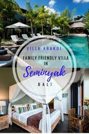 Family holiday in Bali Check out this sixbedroom villa in Seminyak  this