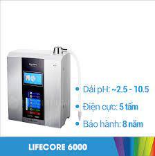 Máy lọc nước ion kiềm Lifecore 6000 chính hãng - Thế Giới Điện Giải