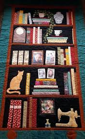 Bookshelf Quilt Pattern Adorable Bookcase Quilt Bookshelf Quilt Google Search How To Make Bookcase