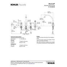 Kohler Revival Kitchen Faucet How To Repair Kohler Revival Kitchen Faucet House Decor
