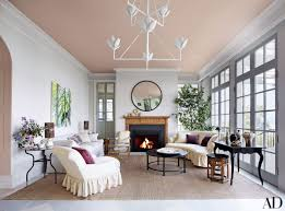 Living Room Ceiling Colors 29 Colorful Ceilings That Add Unexpected Contrast To Any Room