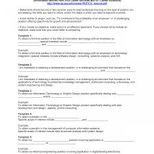 Example Of Good Objective Statement For Resume Amusing Resume Examplesectives Statement For Career Changeective 77
