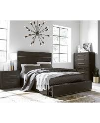 bedroom furniture storage. Beautiful Bedroom A Rich Deeptone Wire Brushed Finish Along With Antiquefinish Bronze  Metal Accents Grace The Sharp Lines Of Cambridge Storage Bedroom Furniture  Intended