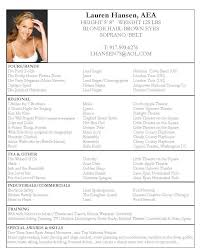 How To Do A Good Resume Examples Gorgeous Good Resumes 48 Acting Resume Example Techtrontechnologies