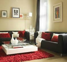 Red And Black Living Room Decorating Ideas Inspiring Good Muebles De Salon  A Sof Negro Black Awesome