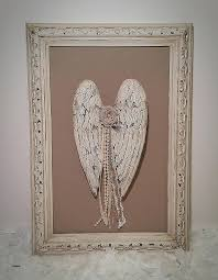 shabby chic angel wings new picture frame craft decoration ideas home improvement cast jennifer