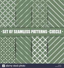 Circle Tiles Set Of Eight Seamless Patterns Repeating Geometric Tiles With
