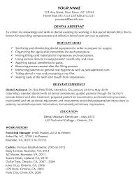 Dental Assistant Resume Sample Awesome Writing Science Reports Owled
