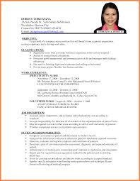 Sample Resume For Overseas Jobs Sample Resume For Jobs Abroad Krida 3