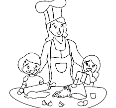 Small Picture Cooking Mickey Coloring PageMickeyPrintable Coloring Pages Free