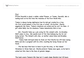 private peaceful essay help private peaceful essay essay by peterandrelover booksie