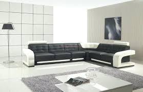small black corner sofa modern black and white leather corner sofa and black floor lamp small