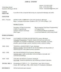 Good Cv Examples 2020 Hints From The Experts About Resume Trends 2020