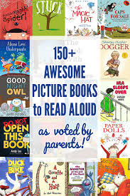 150 awesome picture books story books to read aloud as voted by pas