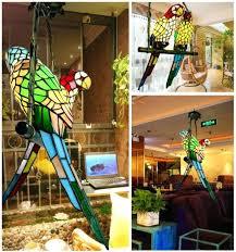 parrot chandelier parrot sings chandelier stats tiffany parrot chandelier