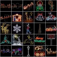 Reindeer Silhouette Lights Christmas Items Wholesale Double Sided Silhouette Window Lights Santa Reindeer With Sleigh Buy Window Lights Santa Double Sided Silhouette Reindeer