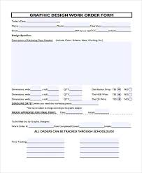36 Work Order Template Free Download Word Excel Pdf