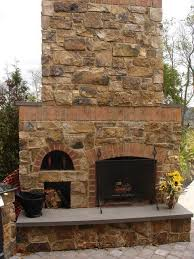 plans for a brick outdoor fireplace with oven google search