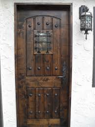wood fiberglass and steel doors are the three most common nowadays most people prefer steel or fiberglass doors because they are energy efficient