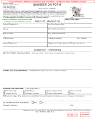 Form Doa 15800 Download Fillable Pdf Suggestion Form