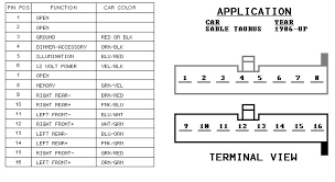 ford taurus radio wiring diagram the wiring 2005 ford taurus radio wiring diagram auto
