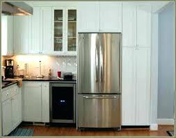 counter depth refrigerator kitchenaid kitchen aid cabinet