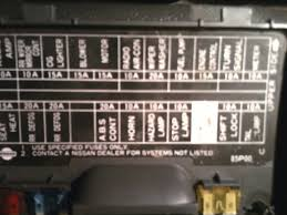 1997 nissan pickup fuse box 1997 wiring diagrams online
