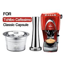 At tchibo we never stand still. Buy Online Icafilas Stainless Steel Refillable Reusable Coffee Capsule Cafeteira Filter For Caffitaly Tchibo Cafissimo Classic Machine Alitools