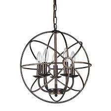 lighting light antique bronze orb chandelier for amazing dining