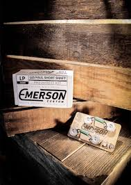 emerson prewired kit for les paul short