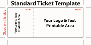 Lunch Ticket Template Lunch Ticket Template Business Letter Free Doc100 Microsoft Word 3