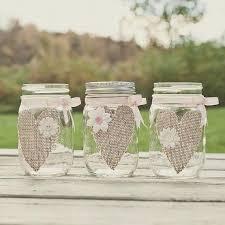 Decorating Mason Jars With Ribbon Mason Jar With Burlap bazaraurorita 100