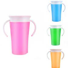 2018 New Brand Modern <b>Children</b> Gift Safe Spill <b>360 Degree Drink</b> ...