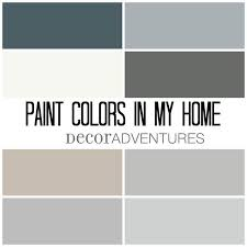 mushroom paint colorPaint Colors in My Home  Free Printable  Decor Adventures