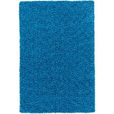 surya charlie bright blue 8 ft x 10 ft indoor area rug