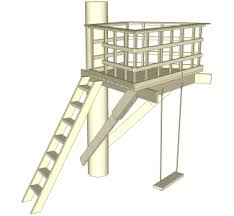 easy treehouse designs for kids. Terrazza Tree Fort Built In One Easy Treehouse Designs For Kids