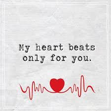The Best Love Quotes Unique Best Love Quotes About Love Thoughts My Heart Beats Only For You