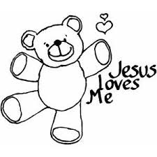 Small Picture Jesus Loves Me Coloring Page