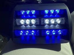 Led Multi Function Strobe Light Details About 18 Led Multi Functional Emergency Warning Strobe Light Car Truck Blue White Blue