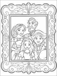 Dibujos Para Pintar Para Niños Elena De Avalor 18 Princess