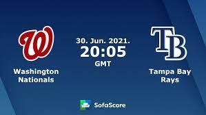 Washington Nationals Tampa Bay Rays ...