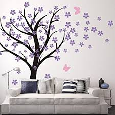 cherry blossom wall decal kids wall art baby nursery wall decal trailing cherry blossom tree on tree wall art baby nursery with amazon cherry blossom wall decal kids wall art baby nursery