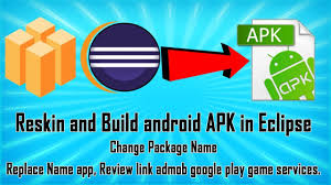 Reskin and Build android APK in Eclipse Buildbox Project Video