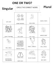 Irregular Plural Nouns Worksheet   Homeschooldressage.com