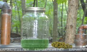 green dragon weed alcohol