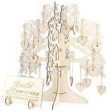 Sign Book For Wedding Details About Family Tree Wedding Guest Book 3d Wooden Guest Sign Book Rustic Wedding Pa Y0r7