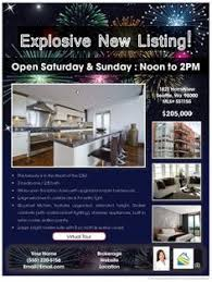 new year real estate flyers new year real estate flyer design zip your flyer real estate