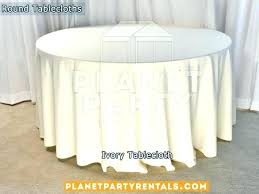 54 x 90 vinyl tablecloth round fits what size table inch wide fitted white oval ivory